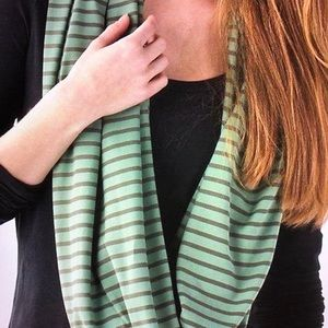 Lululemon RULU Fatigue Green Vinyasa Scarf